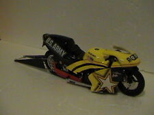 ANTRON BROWN LIMITED EDITION NHRA  U.S ARMY PRO STOCK MOTORCYCLE 1:9 SCALE