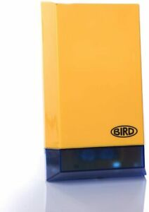 BIRD DUMMY ALARM BOX WITH FLASHING LED SUPPLIED WITH FIXINGS AND BATTERIES