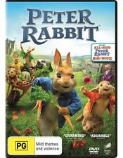 PETER RABBIT (DVD, 2018) : NEW