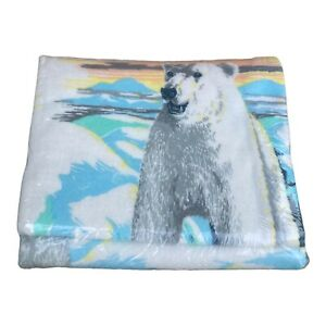 Vintage Beacon Blanket Twin/Full NEW in package POLAR BEAR Made in USA FREE SHIP