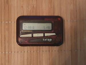 Motorola Tatoo Rouge Vintage