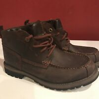Timberland Grantly Chukka Leather Moc Toe Ankle Dark Brown A1859 Men's Size 7