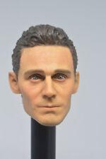 1/6 HOT TOYS Marvel's The Avengers Tom Hiddleston LOKI headplay in stock