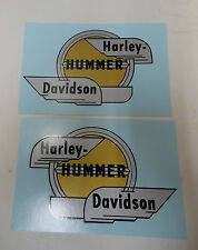 New Harley Gas Tank Decal Set 1958 B 125  61769-58