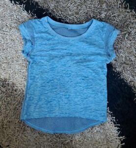 Women's Activewear Mesh T-Shirt- Size M- Blue- Perfect Condition- Super Soft