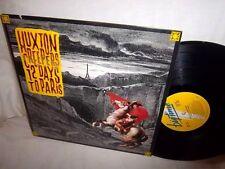 HUXTON CREEPERS-12 DAYS TO PARIS-BIGTIME 6027-1-B NM/VG+  VINYL RECORD ALBUM LP