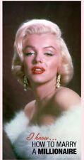 Marilyn Monroe Blonde Fiber Reactive Beach/Bath Towel How to Marry a Millionaire