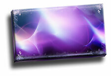 Cool Purple Laser Light Show Pattern Giclee Canvas Abstract Wall Art Picture