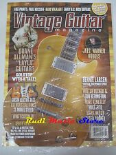 VINTAGE GUITAR Magazine SEALED Nov 2008 Jats' Warner Hodges Bernie Larsen No*cd