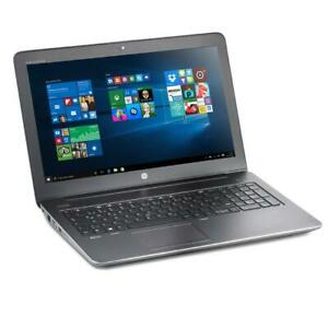 HP ZBook 15 G3 i7 6820HQ 16GB 512GB SSD SATA M2000M CAM Win 10