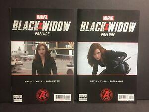 Black Widow Prelude #1 & #2 Movie 2020 NM+ High Grade Lot of 2 Marvel UNREAD