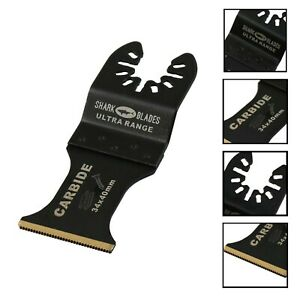 Shark Blades  Multitool Blade 35mm Heavy Duty Carbide Tooth Wood and Metals cuts