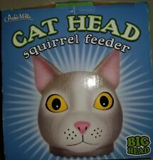 Squirrel Feeder Cat Head Squirrel Feeder New in Box
