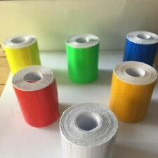 Reflective Tape Safety Reflex Fabric Adhesive Reflector Auto Car Film Crystal