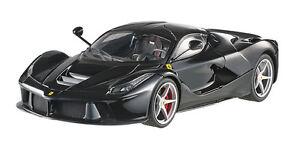 Hot Wheels Elite Ferrari Laferrari 2013 Noir BCT80 1/18 Édition Limitée