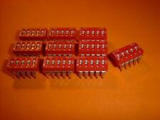 10x DIP-Schalter 5-polig Codierschalter RM 2,54mm