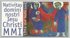VATICANO - Natale 2001 Libretto **