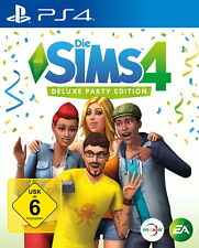 Die Sims 4 - Deluxe Party Edition (Sony PlayStation 4, 2017)