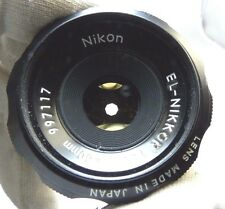 El-Nikkor 50mm f4 enlarger lens Nikon