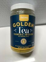 Jarrow Formulas Golden Tea Turmeric Infusion powder 9.5oz Expiration 2/2021 New