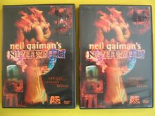 Neil Gaiman's Neverwhere DVD of 1996 BBC Series 2 Discs w/ Interview, Bonuses