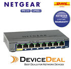 NETGEAR GS108T Prosafe 8-Port Gigabit Smart Switch with 1 port POE