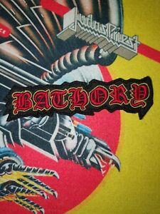 Bathory Patch Shape Black Metal Immortal