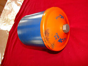 55-62 CHEVROLET CAR TRUCK 235 SIX CYLINDER NOS GM AC OIL FILTER CANISTER