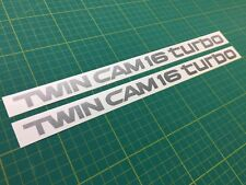 Toyota MR2 Twin Cam 16 Turbo side decals stickers graphics restoration replace