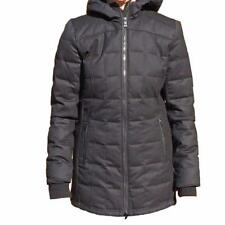 "Canada Goose Branta ""Sable Hoody"" Black Label Down Filled Wool Coat Jacket £940"