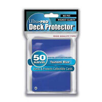 Trading Card Supplies - Ultra Pro DECK PROTECTORS - BLUE (50 pack) - New