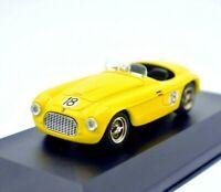 Model Car Ferrari 166 MM Spyder 18 vehicles Scale 1/43 diecast Art Model