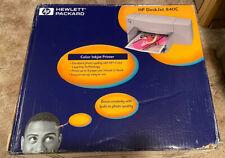 HP DeskJet 840c Parallel/USB 600dpi Inkjet Printer C6414A Brand New Never Opened