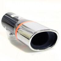 Exhaust Tip Pipe Trim Muffler Chrome For Skoda Citigo Fabia Octavia Roomster