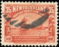 1897 Canada Used Newfoundland 35c F-VF Scott #73 Iceberg Stamp