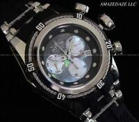 New Invicta Mens Stainless Steel Bolt Zeus Swiss Ronda Z60 Chrono MOP Dial Watch