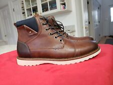 NEW! SONOMA Men's Goods for Life Reddan Lace Up Casual Boots Brown Sz9M