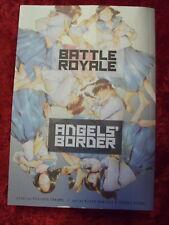 BATTLE ROYALE ANGELS' BORDER VIZ SIGNATURE MANGA IN ENGLISH!