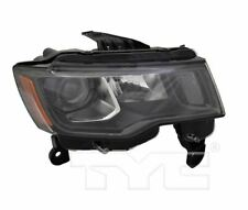 TYC NSF Right Halogen Headlight For Jeep Grand Cherokee Black 2017-2019 Models