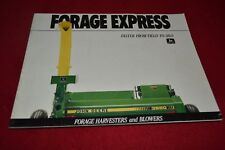 John Deere Forage Harvester For 1990 Dealer's Brochure YABE14