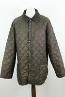 BARBOUR Brown Quilted Jacket size XL