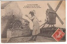 CARTE POSTALE  PIN UP FEMME 1909