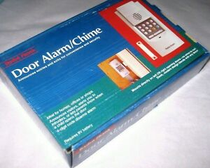 Vintage New Radio Shack Home Safety Wireless Door Alarm Entry Chime 49-422A