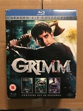 Grimm : Season 1-3 Collection (2014, 15 Blu-ray discs) 66 episodes