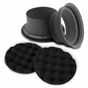 ZEALUM SPB165 Nässeschutz für Lautsprecher 16,5 cm 165 mm Silikonbasis
