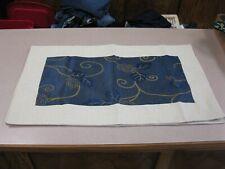 """2 Chinese Silk Satin Pillow Sham 28 1/2"""" X 17"""" - NEW"""