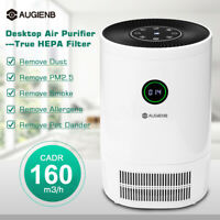 AUGIENB HEPA Auto Air Purifier Home Odor Dust Mold Pollen Smoke Remover