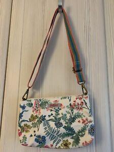 Cath Kidston Twightlight Garden Small Zipped Cross Body Bag