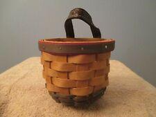 New Listing2002 Longaberger Little Elf Gate House Basket