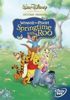 Disney Winnie The Pooh - Springtime With Roo Movie **New DVD** Bonus Features